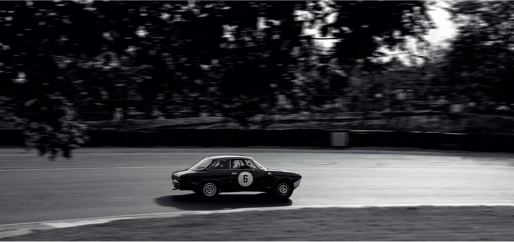 Motorsport - Alfa Romeo Owners Club racing series AROC, Alfa Romeo Giulia 105 GT Sprint