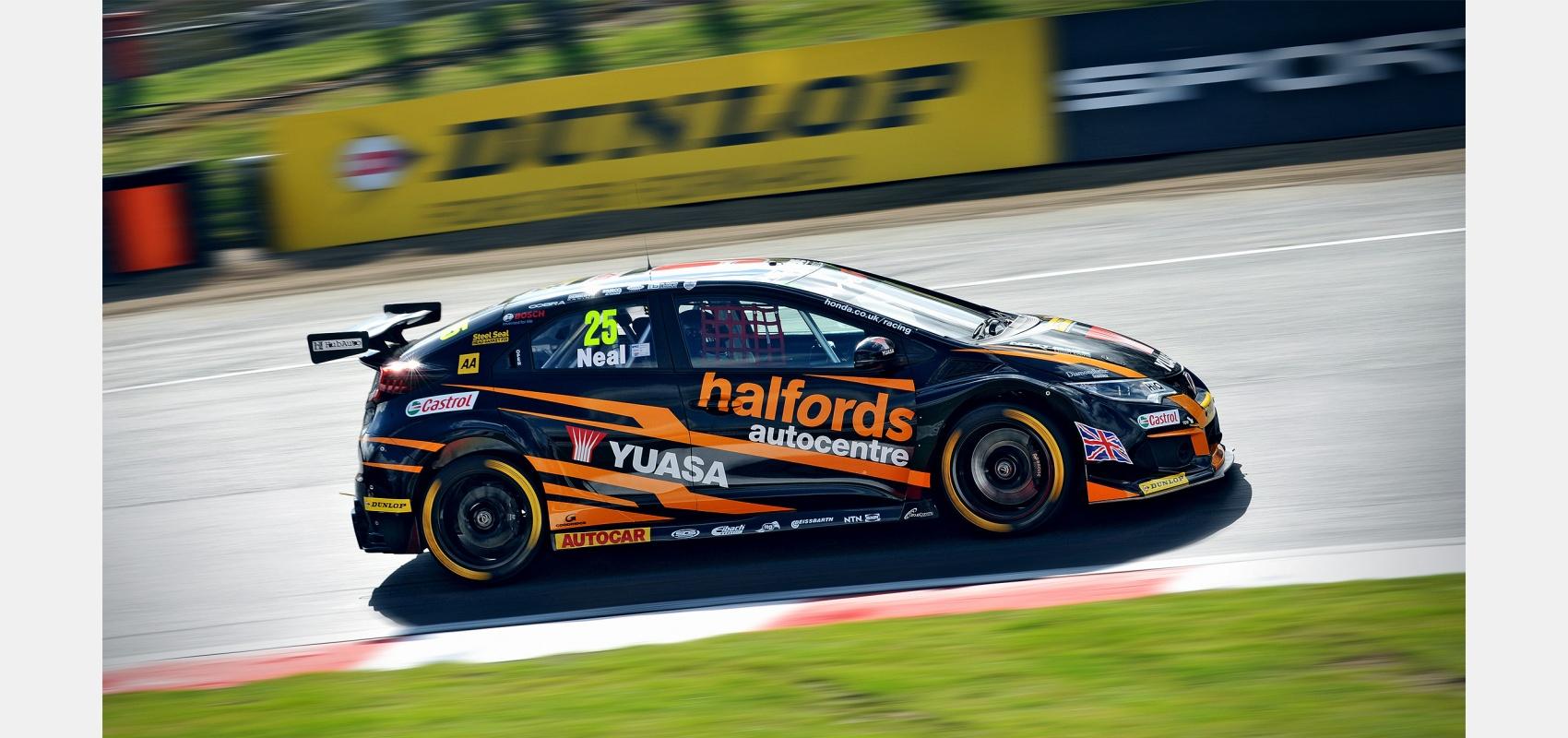 Motorsport, BTCC, Honda, Civic, Type R, driver, Matt Neal.