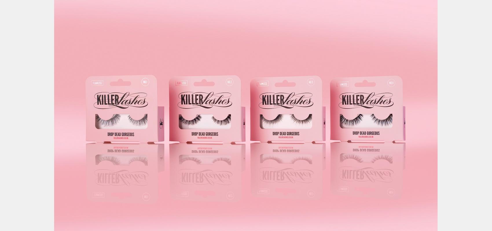 Product photography/Cosmetics/Launch image new lashes range.