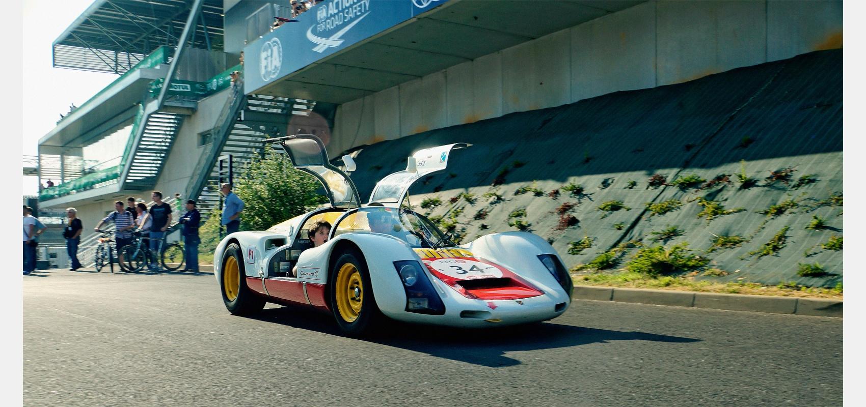 Motorsport, photography, Porsche, 906, Le Mans, Classic, young, boy, paddock.